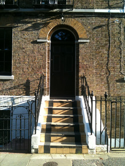 The front door