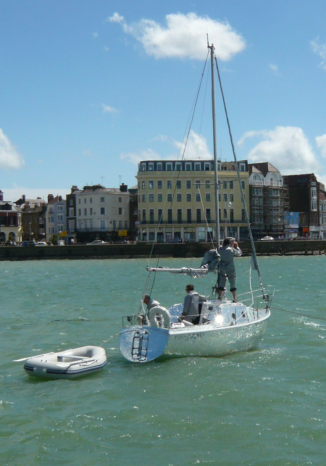Event in Margate Harbour