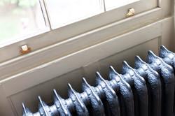 Room 2 cast iron radiators