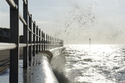 Margate sea wall