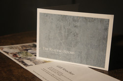 The Reading Rooms gift voucher