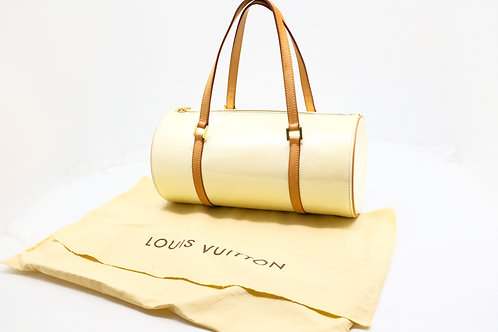 Louis Vuitton Bedford in Perle Vernis Leather