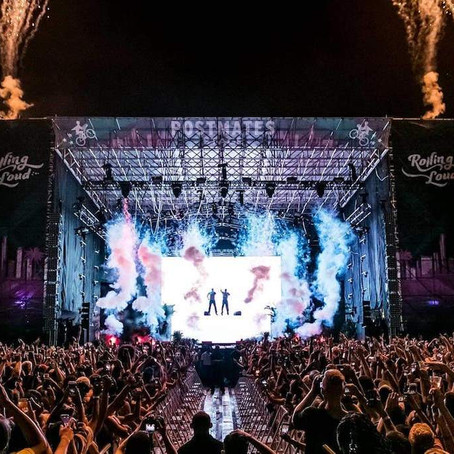 CO2 and Propane Tanks Delivered and Operated for Rolling Loud Music Festival