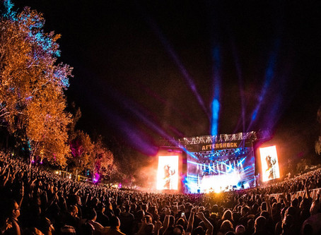 Metal Artists Rocking Special Effects at Aftershock Music Festival