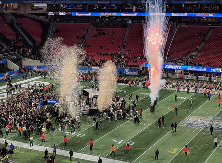 CO2 Masters Services the Peach Bowl's Postgame and MVP Ceremony