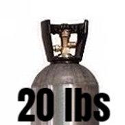 20 lb. Gas Cylinder (Non-Siphon)