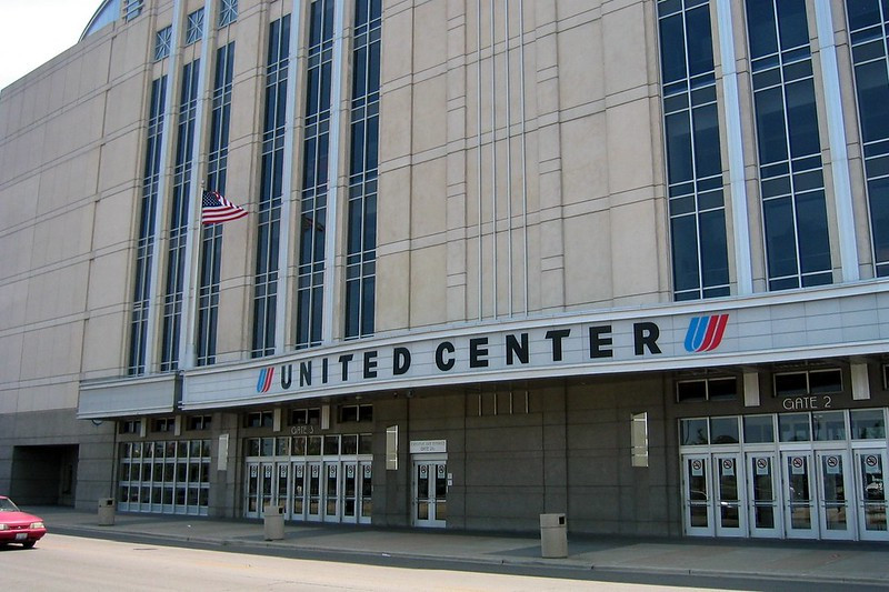 The United Center at Chicago, IL
