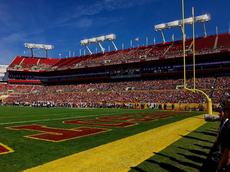 Raymond James Stadium in Tampa, FL