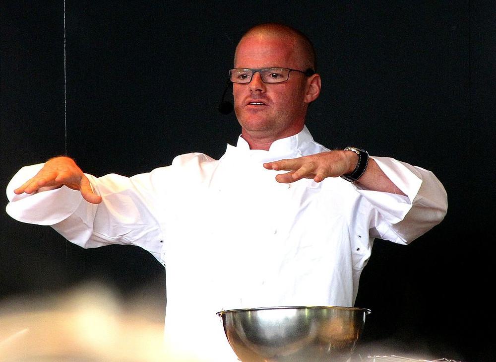 Heston Blumenthal Cooking With Liquid Nitrogen