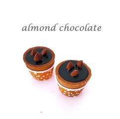 almond chocolate cuptart