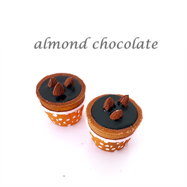 almond chocolate cuptart