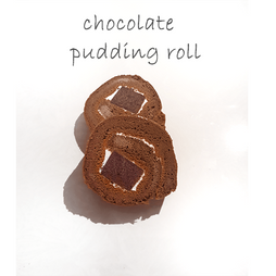 chocolate pudding roll
