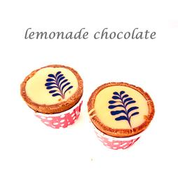 lemonade chocolate cuptart