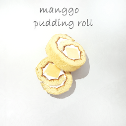 manggo pudding roll