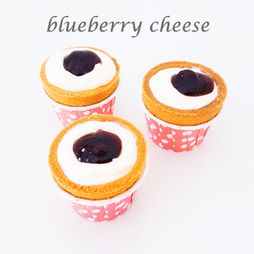 blueberry cheese cuptart