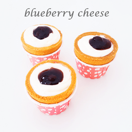 blueberry cheese cuptart