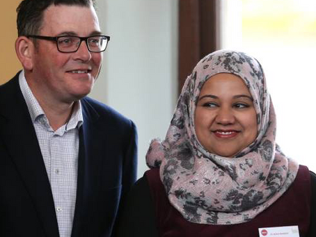 BENDIGO MOSQUE BEGINS & PREMIER DANIEL ANDREWS SAYS 'Diversity is our greatest strength'