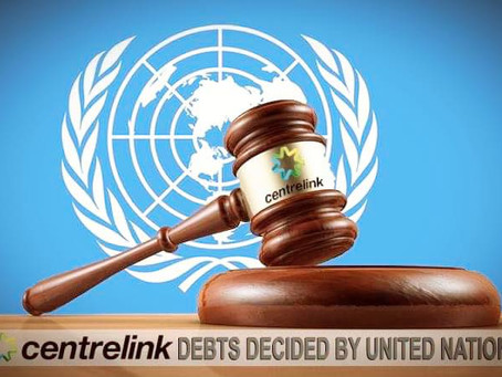 HUMAN RIGHTS LAW CENTRE DOBS ON CENTRELINK TO THE UNITED NATIONS