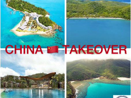 CHINA BLOOM COMPANY TAKES HOSTAGE OF QUEENSLAND ICONIC ISLANDS FORCING AUSSIES OUT