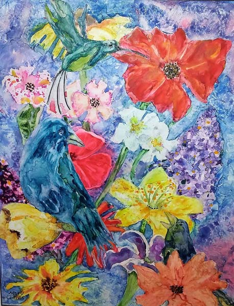 4-MaryCotner_Birds in Bloom_small