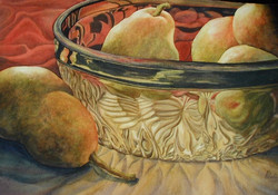 Pears and Glass
