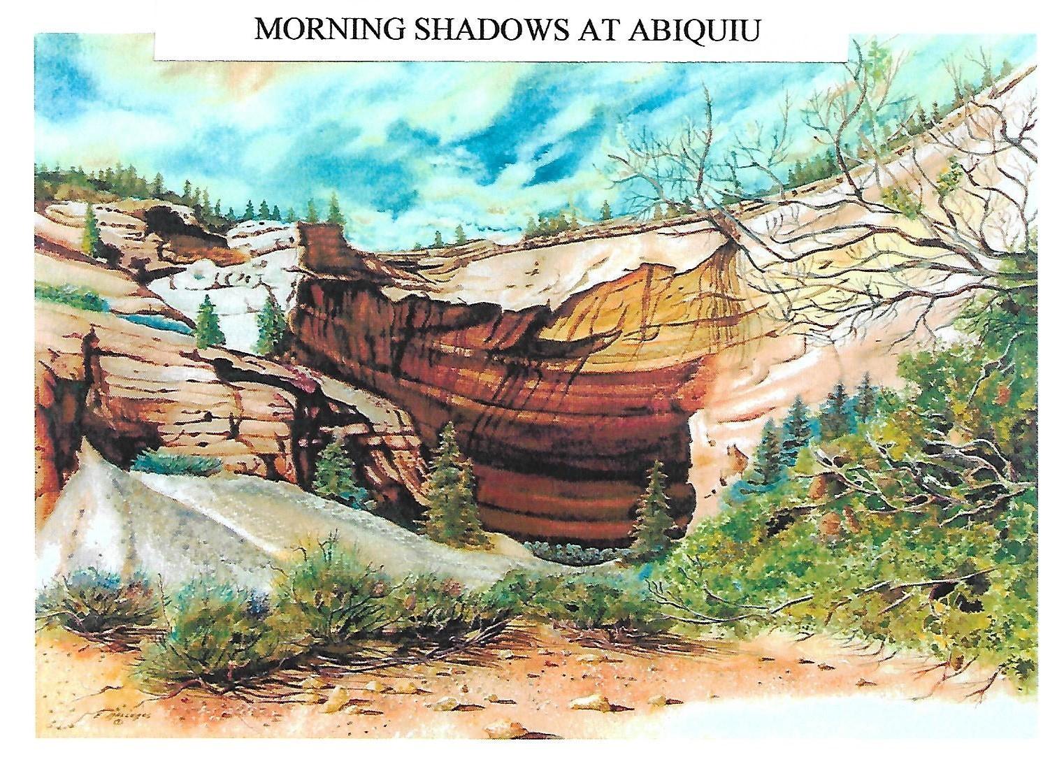 Morning Shadows at Abiquiu