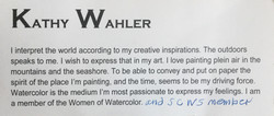 Bio Kathy Wahler