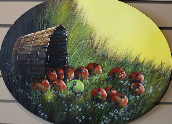 Basket of apples