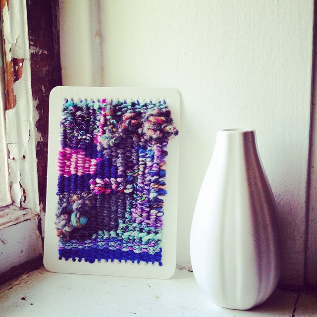 Instagram - wooded bliss #tapestry #artcard in the #studiogypsy #etsy shop..jpg