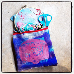 Instagram - my #artpouches make the perfect summer #projectpouch and they're eve