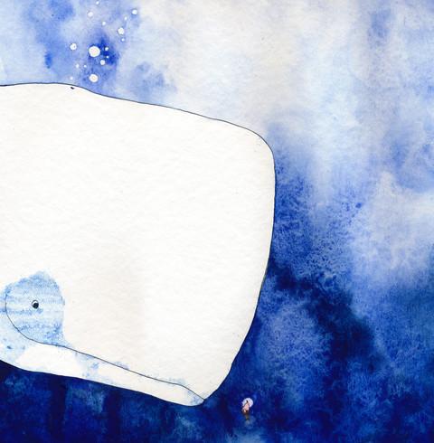 Aquarell und Tusche auf Papier