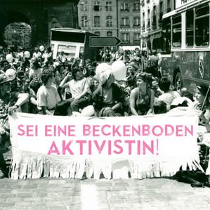 Sei eine Beckenboden Aktivistin!