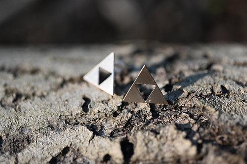 Dreieck. Ohrstecker.