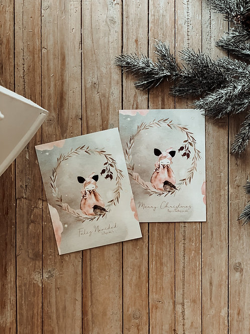 Christmas Feelings Postcards