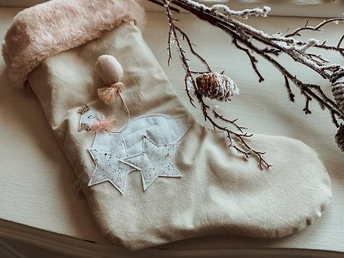 Winter Wonderland Swan Stocking