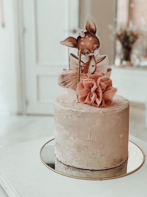 The Petit Comité Cake Topper Set
