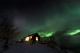 Northenlight in Abisko nationalpark, Sweden