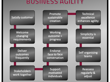 THE PATH TO BUSINESS AGILITY