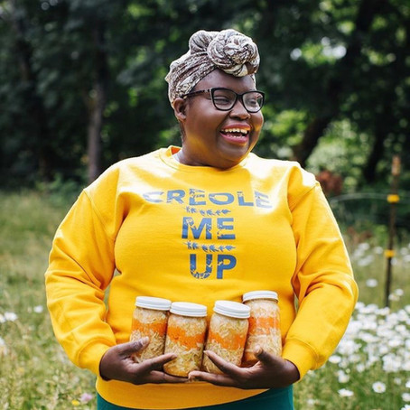 An Interview with Elsy Dinvil, chef and owner of Creole Me Up