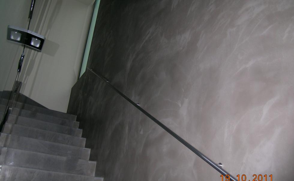 Pavimento e parete in resina