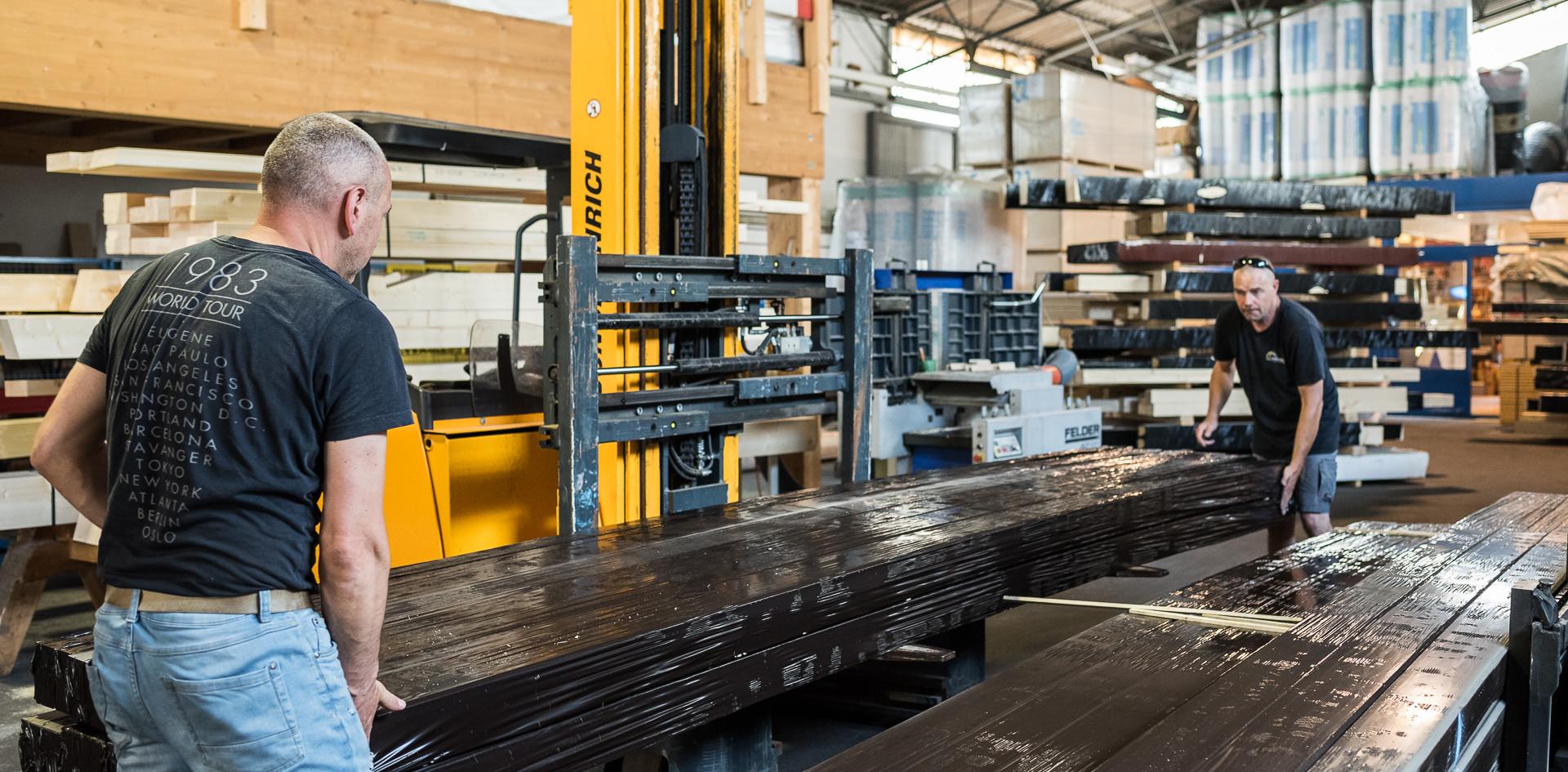 Taglio automatico del legno