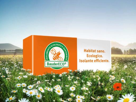 BauderECO Isolante 100% ecologico!
