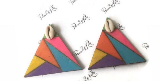 Tri- Colour Studs