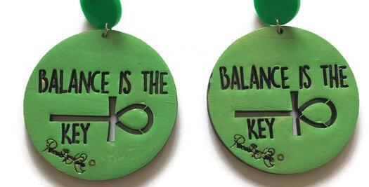 Balance is the Key studs