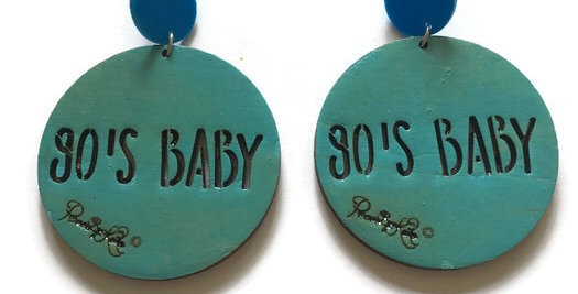 90's Baby Studs