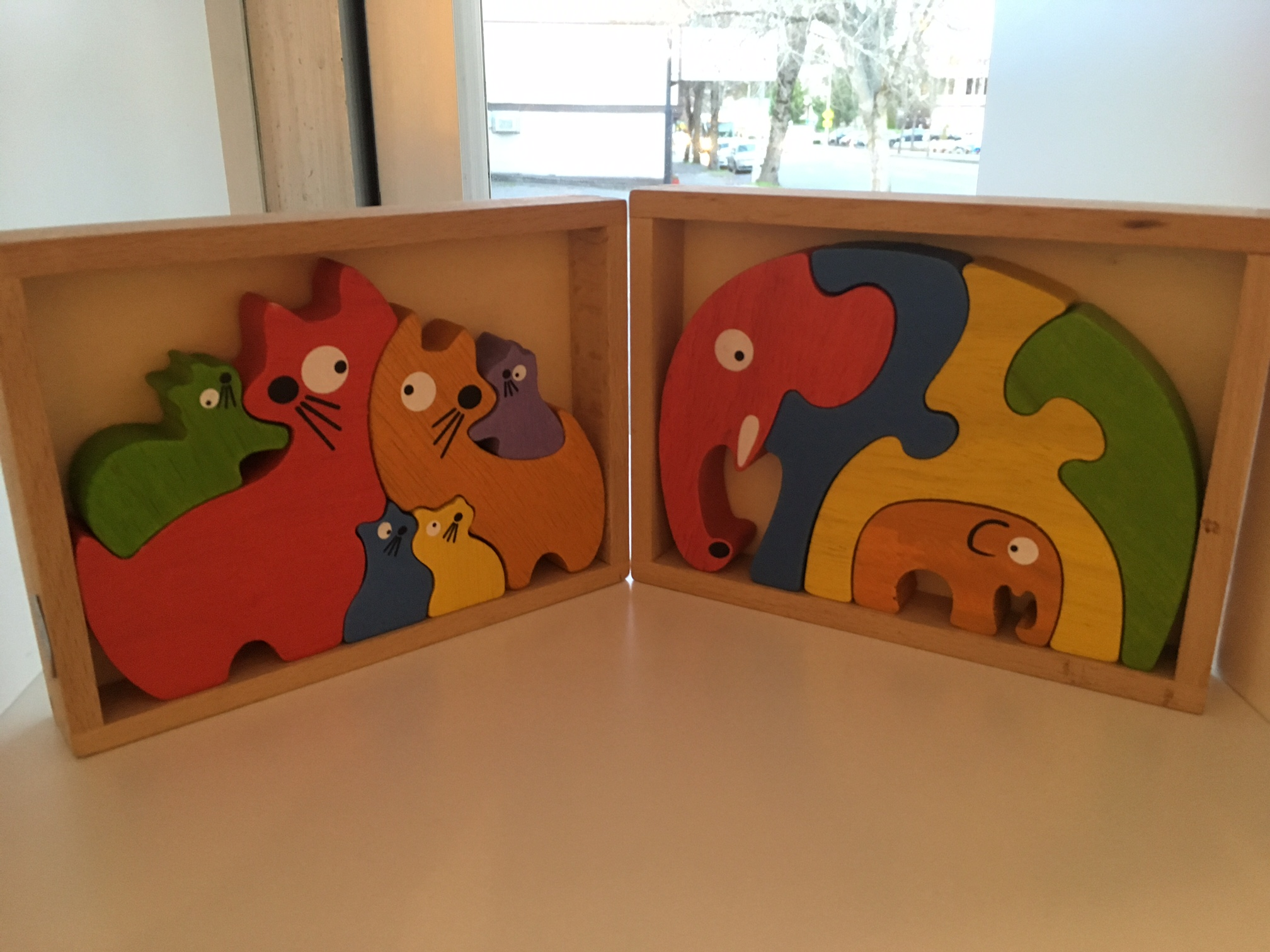Puzzles and Animals