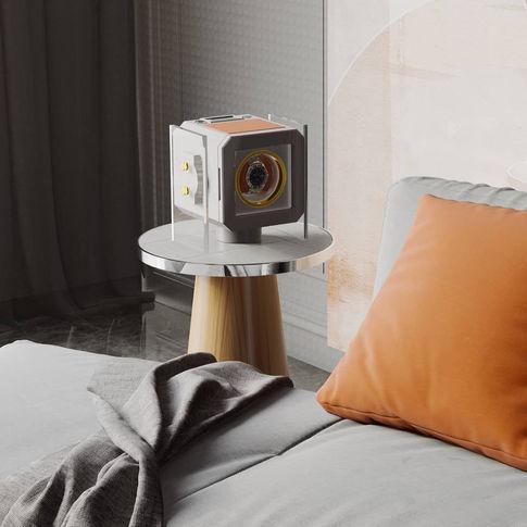 MT BOX WATCH WINDER IN THE BEDROOM