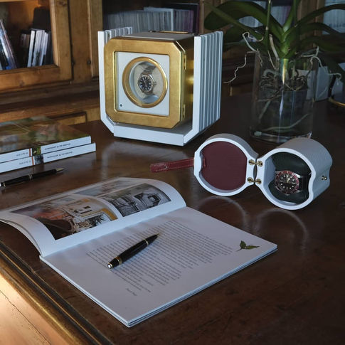 MT BOX WATCH WINDER AND MT TRAVEL