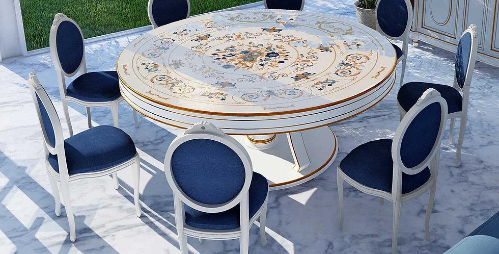 R115 - Tavolo rotondo -  Round Table