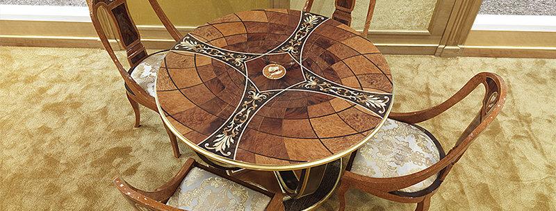 R161 - Tavolo rotondo / Round table